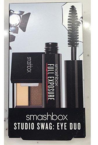 Smashbox Studio Swag Eye Duo Travel Set: Cover Shot: Smoky Eye Shadow Duo Instinct / Hell Ya + Full Exposure Mascara by Smashbox
