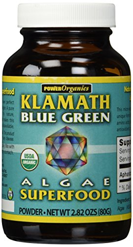 Blue Green Algae Powder Klamath Blue Green Algae 80 gram Powder Klamath Blue Green