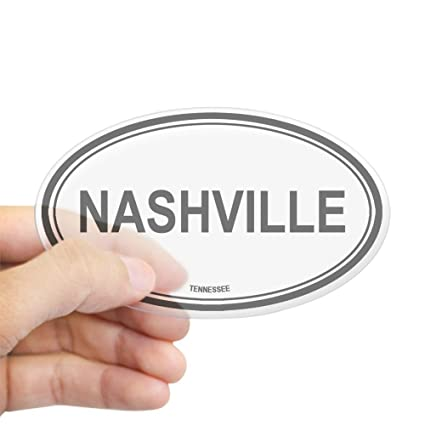 Amazon Com Cafepress Nashville Tennessee Oval Sticker Oval