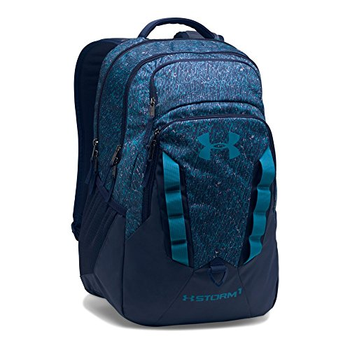 Under Armour Storm Recruit Backpack,Midnight Navy /Bayou Blue, One Size