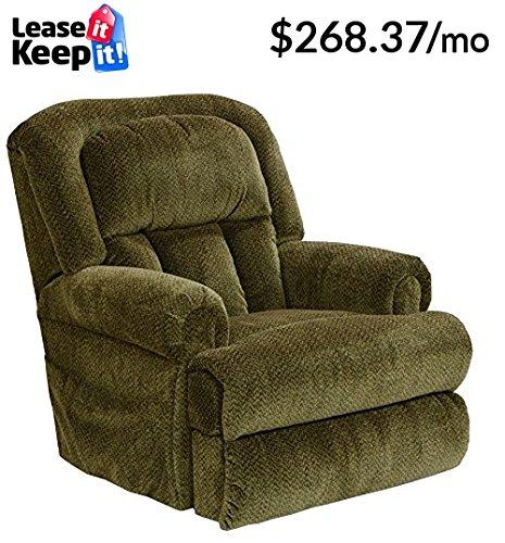Catnapper Burns 4847 Power Lift Chair & Recliner - Basil - Foam Open Coil