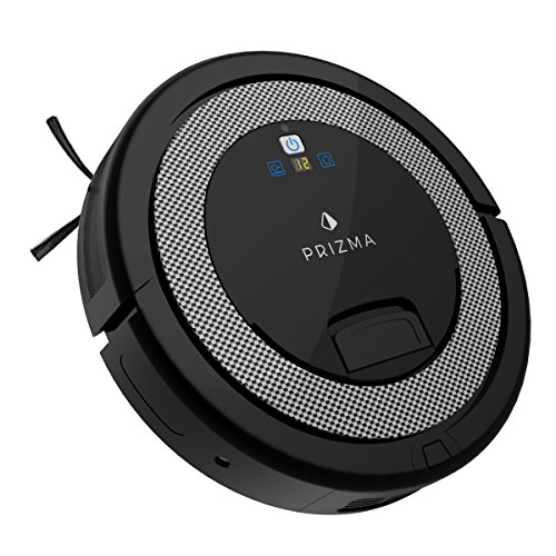CleanMate QQ6 - Prizma Edition Robot Vacuum Cleaner with Remote Control, Smart Scheduler, Drop and Obstacle Sensor, Multi-Pattern Cleaning, and Self-Charging for Carpet and Hard Floor ()