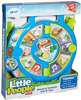 aff6b926a07c8 Fisher-Price Classics BFI2070 See  n Farmer Says Toy Multi  Amazon ...