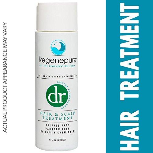Regenepure DR Hair Loss Shampoo for Hair Growth and Scalp Treatment 8 oz.