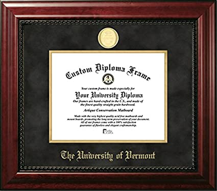 Amazon.com - University of Vermont Official Diploma Frame (Other) -