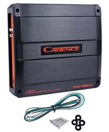 Cadence FXA1000.2 1000W 2-Channel Flash FXA Series Full Range Class A/B Car Amplifier by Cadence (Image #5)