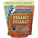 Wholesome Sweeteners Organic Sucanat, 2 lb