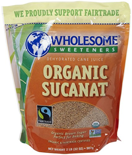 - Wholesome Sweeteners Organic Sucanat, 2 lb