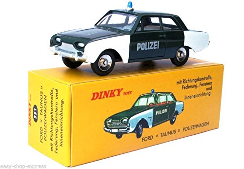 OPO 10 - Atlas Dinky Toys - Ford Taunus POLIZEIWAGEN - NOREV Collectible CAR - - Cars Toy Dinky
