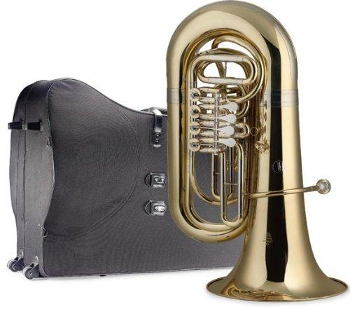 Stagg 77-TU RW SC  B-Flat Tuba with Soft Case by Stagg