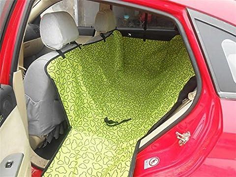 Pet Seat Covers Covers Pet Dog Rear Back Car Seat Cover Hammock Protector Cushion Mat Green