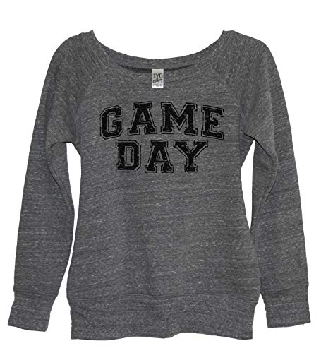 Game Day Women's Tri-Blend Wide Neck Sweatshirt (2X)