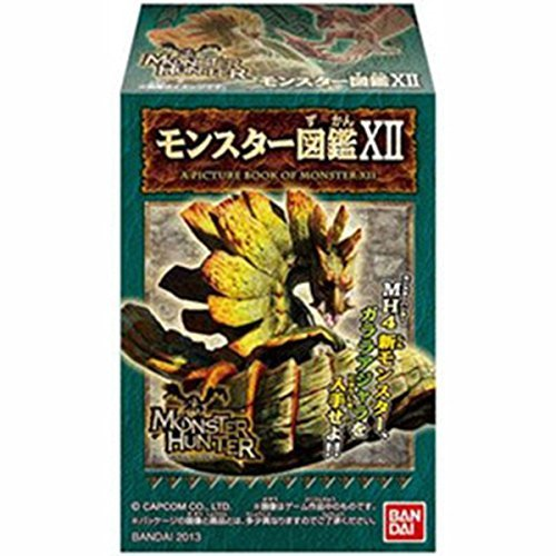 Monster Hunter Encyclopedia 12 Blind Box Action Figure -