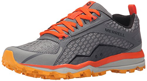 Merrell Mens All Out Crush Trail Running GreyOrange 11 M US