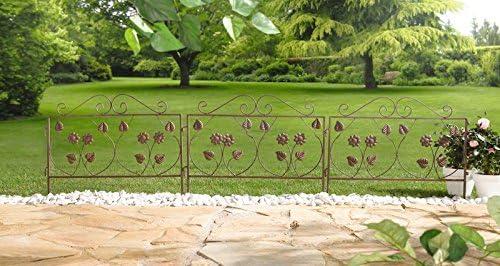 1 X Elemento de valla decorativa