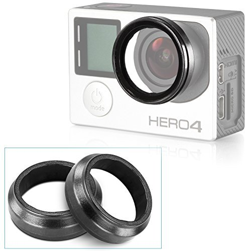 Neewer Camera Protective Lens for HD GoPro Hero 6 5 3 Hero 3+, Hero 4, 2 Pack