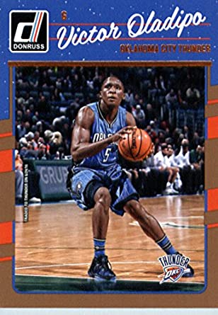 1f014e095f50 Amazon.com  2016-17 Donruss  146 Victor Oladipo Oklahoma City Thunder  Basketball Card-MINT  Collectibles   Fine Art
