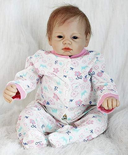 Baby Boy Girl Soft Vinyl silicone Newborn Dolls 20 Inch Realistic Reborn Dolls