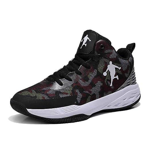 FJJLOVE Zapatos de basquetbol para Hombres, Zapatillas de Deporte ...