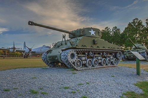 LAMINATED POSTER M4A3E8 Sherman Medium Tank (M4a3e8 Tank)