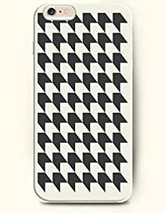 Black And White Arrows - Geometric Pattern - Phone Cover for Apple iPhone 6 ( 4.7 inches) - OOFIT Authentic iPhone Case