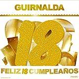 inedit Festa - Guirnalda para Fiestas Feliz 18 Cumpleaños ...