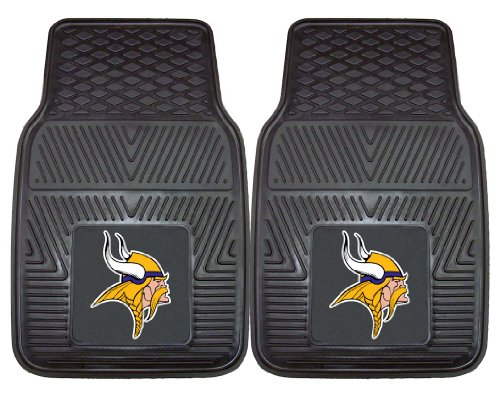 Minnesota Vikings Heavy Duty 2 Piece Vinyl Car Mats