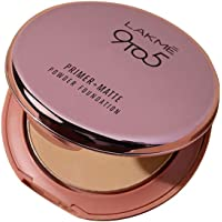 Lakme 9 to 5 Primer with Matte Powder Foundation Compact, Ivory Cream, 9g