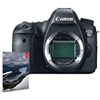 Canon EOS 6D DSLR Camera Body BUNDLE w/Adobe Photoshop Lightroom 6 #8035B002