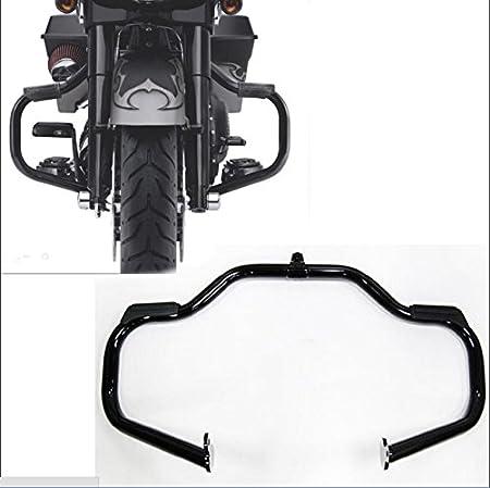 Krator Engine Guard Highway Mustache Crash Bar Compatible with Harley Davidson Street Glide Special FLHXS 2014-2020