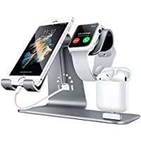 Bestand 3 in 1 Apple iWatch Stand, Airpods Charger Dock,...