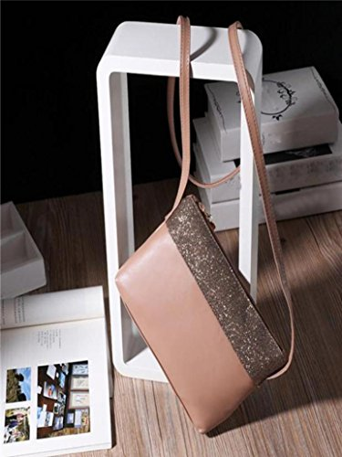 Nevera Khaki Purse Bag Women Bags Khaki Clearance Satchel Shoulder Messenger Handbag Leather Of6nqUnB