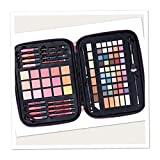 Ulta Beauty Gorgeous On The Go 93 Piece Collection Rainbow Glitter Gift Set Zippered Train Case