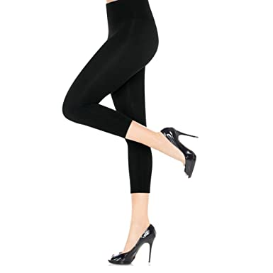 23edde422c7090 Spanx Women's Look-at-Me Leggings Cotton Capri at Amazon Women's Clothing  store:
