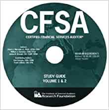 Certified financial services auditor study guide