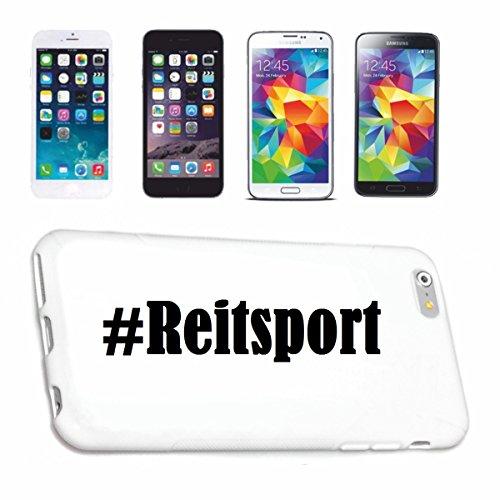 Handyhülle iPhone 6S Hashtag ... #Reitsport ... im Social Network Design Hardcase Schutzhülle Handycover Smart Cover für Apple iPhone … in Weiß … Schlank und schön, das ist unser HardCase. Das Case wi