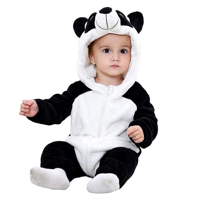 Disfraz de felpa suave - forro polar - mono - mono de panda ...