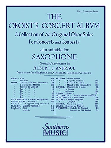 Oboist's Concert Album: Oboe