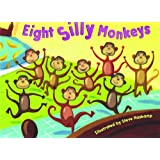 Bendon Publishing Eight Silly Monkeys Mini Board Book