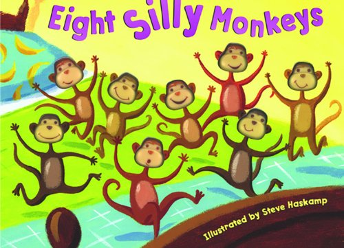 Bendon Publishing Eight Silly Monkeys Mini Board - Alphabet Books Little