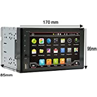 Navigation Seller - 6.2  Android 6.0 Car Stereo Auto Radio Quad Core 1.6GHz 2DIN Car DVD Player GPS Navigation In Dash with full Touch Screen