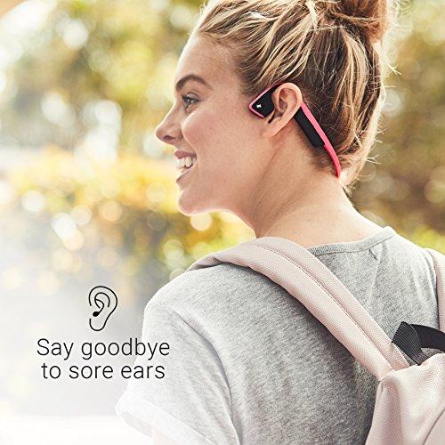 AfterShokz Trekz Titanium Mini Wireless Bone Conduction Bluetooth Headphones, Shorter Headband Size for Smaller Fit, Open-Ear Design, Slate Gray, AS600MSG by Aftershokz (Image #3)