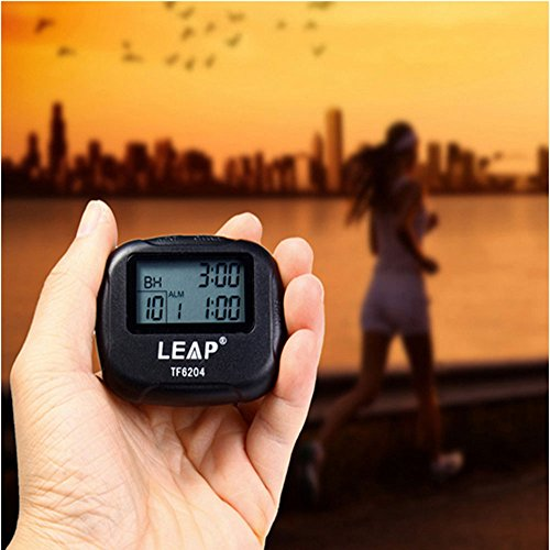 Interval Timer,Vishm Best Training Electronics Sport Timer Segment Stopwatch Timer Programmable Interval Chronograph for Sport,Yoga ,Crossfit, Gym, Boxing, Running Other GYM Trainings with LCD by Vishm