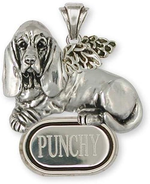 Beagle Angel Jewelry Silver And Gold Beagle Angel Pendant Handmade Dog Jewelry B