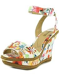 J.Renee Womens Alawna Wedge Sandal