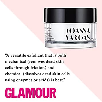 Exfoliating Is The Secret to Glowing Skin – The Exfoliating Mask By Celebrity Facialist Joanna Vargas – A Natural Enzyme Facial Peel and Exfoliant – Increase Cell Turnover