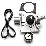 ECCPP Timing Belt Water Pump Tensioner Kit Fits 1997-2002 Ford Escort Mercury Tracer 2.0L 121Cu SOHC