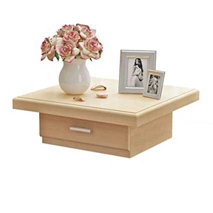 EWYGFRFVQAS Tatami Small Cabinet Solid Wood Bedside Table Low Cabinet Bedside Cabinet Lockers Cabinets Simple Bedside Table With Drawer A