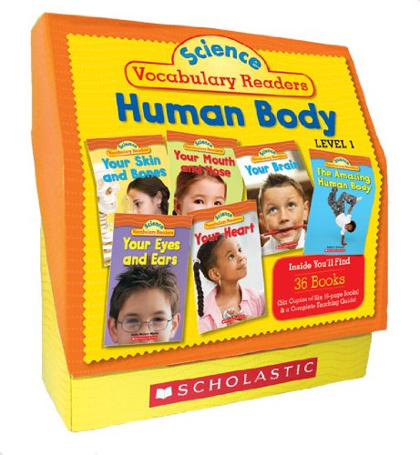Science Vocabulary Readers Set: Human Body: Exciting Nonfiction Books That Build Kids' Vocabularies Includes 36 Books (Six copies of six 16-page ... Eyes and Ears, Nose and Mouth, Skin and - Diagram Nose Anatomy
