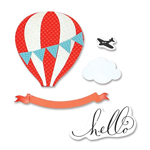 hot air balloon stamp - 7